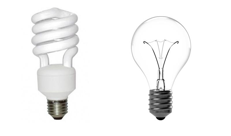 equivalence entre ampoules basse consommation et ampoules. Black Bedroom Furniture Sets. Home Design Ideas