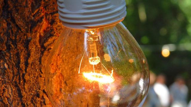 Transition ampoule incandescence