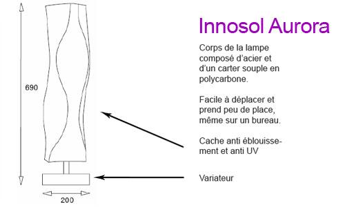 Appareil de luminothérapie Innosol Aurora