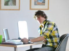 Avoir une lampe de luminothérapie