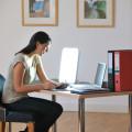 luminothérapie au travail