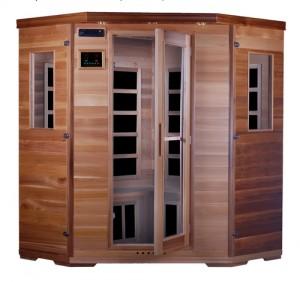 Sauna Infrarouge Carbone en bois de cèdre