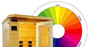 Chromothérapie et saunas