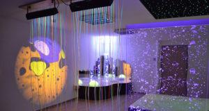 Luminothérapie et espace Snoezelen